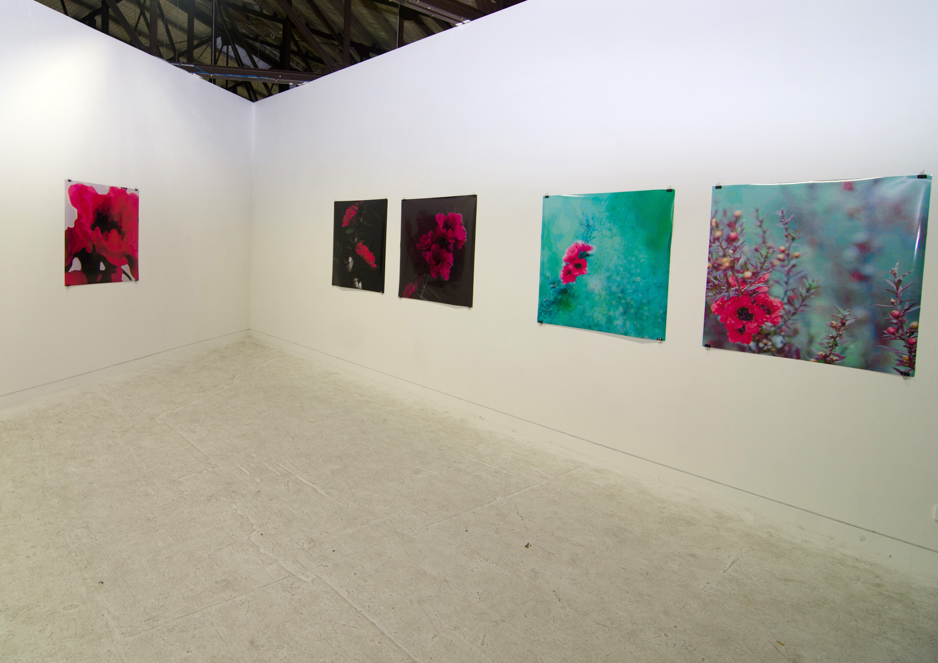 Work on display to the VCA Masters of Contemporary Art Class