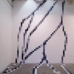 Pixel Peony Wall 2