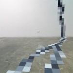 Pixel Peony Wall 2 detail