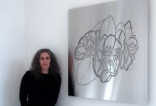 2010   3 Camellias,  Steel Sculpture
